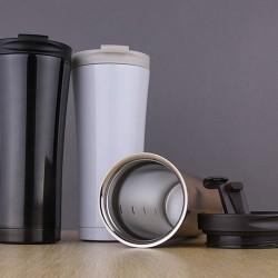 Ly giữ nhiệt inox 450ml ( có hàng)