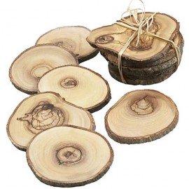 Lót ly gỗ độc đáo