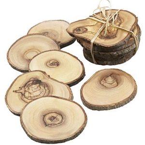 Lót ly gỗ tự nhiên
