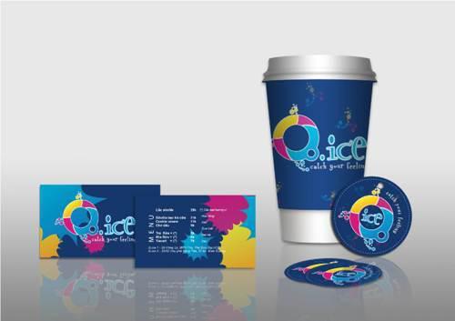 Bộ sản phẩm nhận diện thương hiệu cho quán café