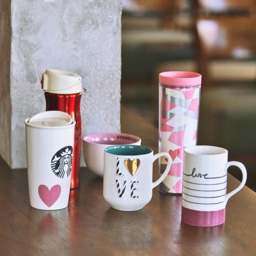 Ly giữ nhiệt, bình giữ nhiệt làm sản phẩm marketing cho các thương hiệu cafe.