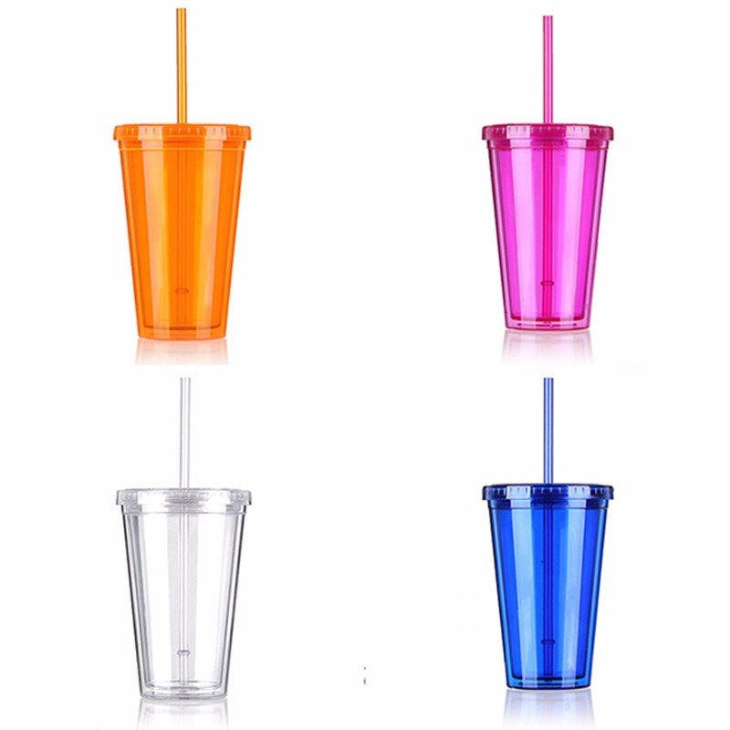 Double wall plastic cup 8
