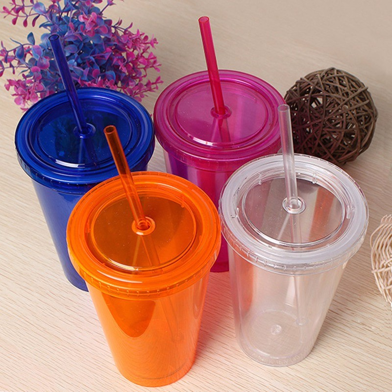 Double wall plastic cup 1